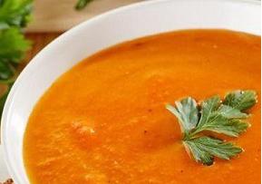 سوپ قرمز زعفرانی