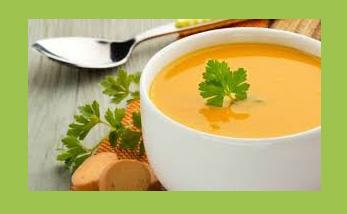 سوپ قرمز زعفرانی۳