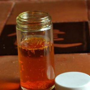 Saffron brewed